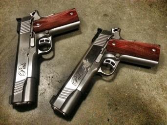 Wright Armory - Custom Matching 1911 Set