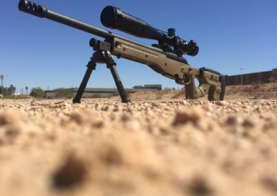 Wright Armory - Remington 700 Accuracy International Chassis Build