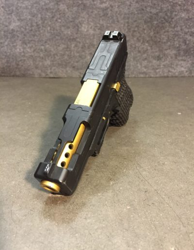 Wright Armory - Glock Porting and TiN Coating