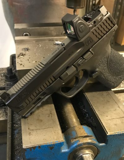 Wright Armory - MP9 RMR Cuts, Forward Cocking Serrations, Top Cocking Serrations
