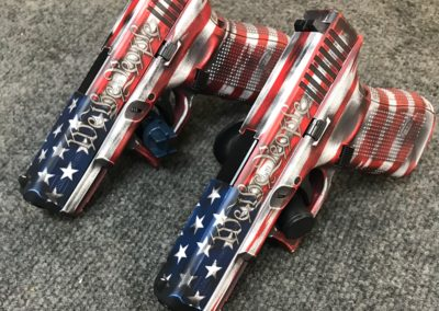 Wright Armory - Cerakote We The People Theme Build