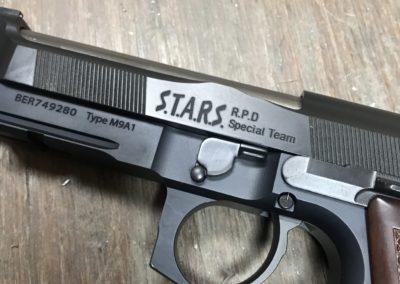 Wright Armory - Beretta 92 Brigadier Resident Evil Conversion