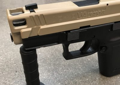 Wright Armory - Springfield XD40 Internal Comp and Back Bore Barrel Porting