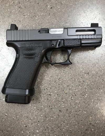 Wright Armory - Glock G19 RMR Cuts, Slide Ports, Forward Cocking Serrations, Dish Cuts, Laser Stippling